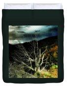 Storm Over The Jemez Mountains Duvet Cover