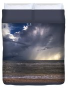 Storm Rider Duvet Cover by Nick  Shirghio