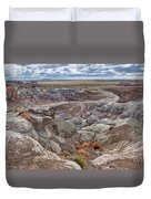 Stormy Morning At Petrified Forest  Duvet Cover