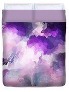 Stormy Purple Duvet Cover