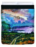 Stormy Road Duvet Cover