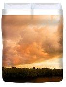 Stormy Sundowner Duvet Cover