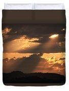 Stormy Sunset Duvet Cover