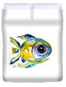 Stout Lookout Fish Duvet Cover