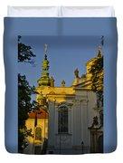 Strahov Monastery - Prague Duvet Cover