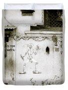 The Surreal Skeleton  Duvet Cover