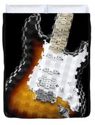 Classic Guitar Abstract 2 Duvet Cover