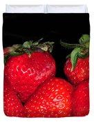Strawberries Duvet Cover by Paul Ward
