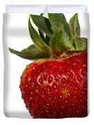 Strawberry Close Up No.0011 Duvet Cover