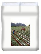 Strawberry Farm Duvet Cover