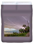 Streak Lightning Duvet Cover