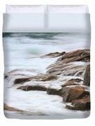 Streaming Seas Duvet Cover