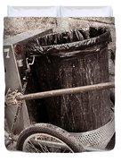 Street Cleaning Kit Duvet Cover