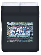 Street Graffiti - Tubs II Duvet Cover