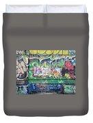 Street Graffiti - Tubs IIi Duvet Cover