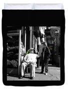Streets Of New York 8 Duvet Cover