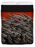 Striped Catfish Duvet Cover