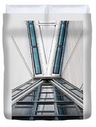Structure Reflections Duvet Cover
