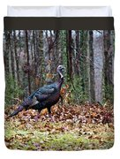 Strutting Turkey Duvet Cover