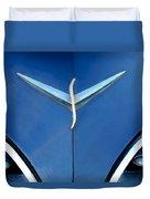 Studebaker Hood Emblem Duvet Cover