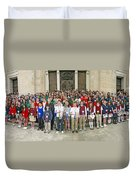 Students Catholic Schools 2007 Duvet Cover