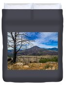 Studies On Sugarloaf Peak 1 Duvet Cover