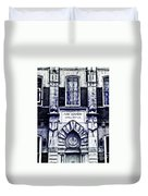 Study Of One Of The Oldest Catholic Churches In New Orleans Duvet Cover