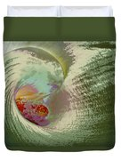 Stylized Calla Lily Duvet Cover
