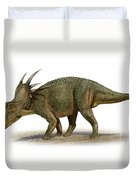 Styracosaurus Albertensis Duvet Cover