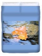 Submerged Sunset Duvet Cover
