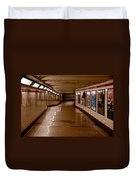 Subway Tunnel Duvet Cover