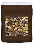 Sugar Coated Mixed Nuts Duvet Cover