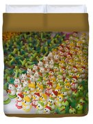 Sugar Figurines For Sale At The Day Duvet Cover