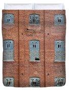 Sugar Mill Broken Windows Duvet Cover
