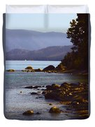 Sugar Pine Point Beach Duvet Cover