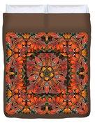 Sumac Autumn Kaleidoscope Duvet Cover