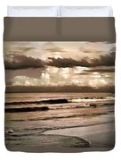 Summer Afternoon At The Beach Duvet Cover