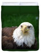 Summer Bald Eagle  Duvet Cover