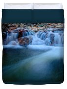 Summer Cascade Duvet Cover by Chad Dutson