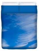 Summer Cloud Images Duvet Cover