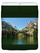Summer Day At Jenny Lake Duvet Cover