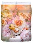 Summer Roses Duvet Cover