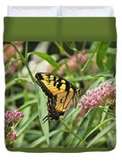 Summer's Flying Tiger  Duvet Cover