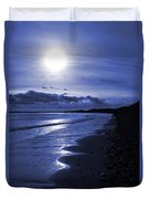 Sun At The Shore II Duvet Cover