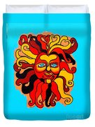Sun God II Duvet Cover