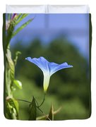 Sun On Morning Glory Duvet Cover