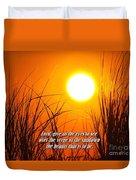 Sundown Beauty Duvet Cover