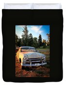 Sundown Chevy Duvet Cover