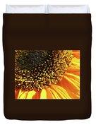 Sunflower Edge Duvet Cover