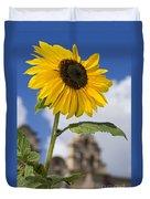 Sunflower In Balboa Park Duvet Cover